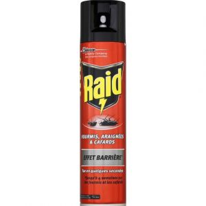 Raid Insecticide effet barrière fourmis, araignées & cafards