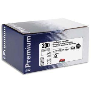 Gpv 200 enveloppes Premium 11 x 22 cm