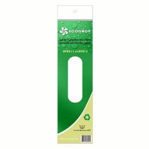 Ecodrop 5 lingettes pour lave-vitre