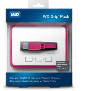 Western Digital WDBFMT0000NPM - Grip Pack (coque + câble USB 3.0) pour My Passport Ultra
