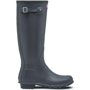 Hunter Wellington Boots, Bottes et Bottines de Pluie Femme, Gris (Grey/Dsl), 40/41 EU