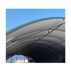 Atout Loisir Bâche 450 microns vert blanc opaque, Longueur 5.50 m, Largeur 8 m