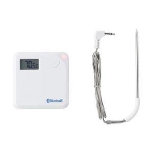 Eurochron Enregistreur de température radiopiloté numérique A 621 arrêt automatique, capteur filaire, fonction enregistreur / Data Hold, application gratuite