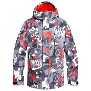 Quiksilver Vestes Mission Printed - Poinciana Giantforce - Taille S