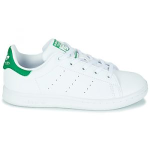 Adidas Chaussures enfant STAN SMITH C - Couleur 28,29,30,31,32,33,34,35,33 1/2,31 1/2,30 1/2,28 1/2 - Taille Blanc
