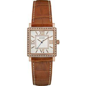 Guess W0829L - Montre pour femme avec bracelet en cuir