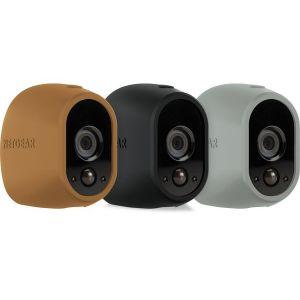 NetGear VMA1200D-10000S - Pack de 3 Housses en silicone pour Caméra Arlo