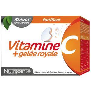 Nutrisanté Vitamine c + gelée royale, 24 comprimés