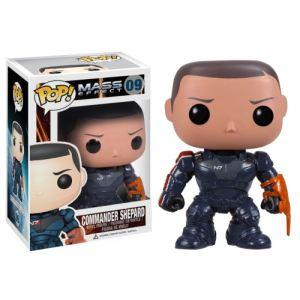 Funko Figurine Pop! Mass Effect Commander Shepard