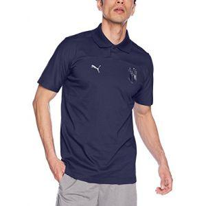 Puma FIGC Azzurri Polo Homme, Peacoat, FR : L (Taille Fabricant : L)