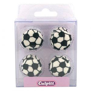 Culpitt Décors en sucre ballon de foot x12