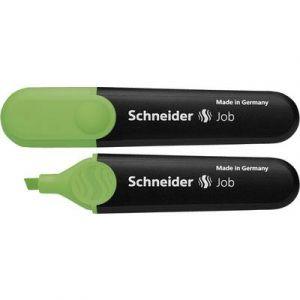 Schneider (Papeterie) Surligner Job vert