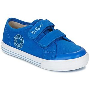 Kickers Godille, Baskets Mixte Enfant, Bleu (Bleu), 34 EU