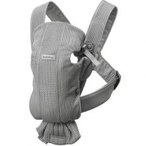 BabyBjörn Porte-bébé Mini tissu Mesh 3D gris