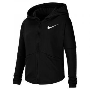 Nike Sweatà capuche de training à zip pour Fille plus âgée - Noir - Taille XL - Female