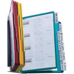 Durable Système de consultation mural VARIO WALL 20 pochettes coloris assortis