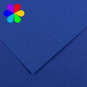 Canson 200040800 - Feuille Iris Vivaldi A4 240g/m², coloris bleu roi 23