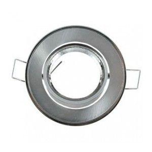 Vision-El Collerette Rond Orientable Diamètre 86mm Finition Argent