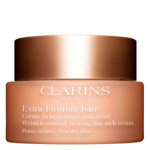 Clarins Extra-Firming Jour - Crème riche fermeté anti-rides peaux sèches