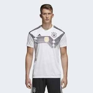 Adidas Maillot de Foot DFB WM 2018 Maillot Domicile, Blanc/Noir, M