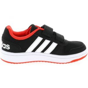 Adidas Chaussures enfant Hoops 2.0 cad nr/rg Noir - Taille 29,30,31,32,33,34,35