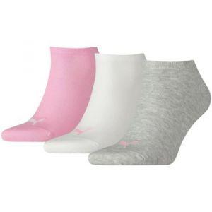 Puma Chaussettes -underwear Sneaker Plain 3 Pack - Prism Pink - EU 35-38