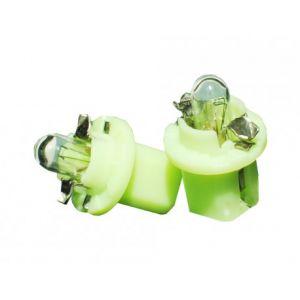 2 ampoules halogène B8.5d 1.2w 12V