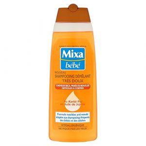Mixa bébé Shampoing démêlant très doux au karité pur