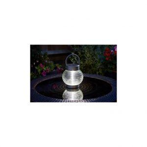 Smart Garden Lanterne solaire à poser Globe 365 transparent à LED 10 lumens