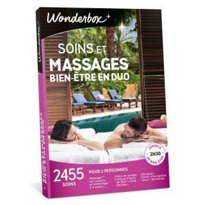 Wonderbox Soins et massages bien-être en duo - Coffret cadeau