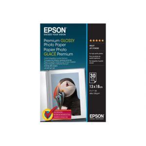 Epson C13S042154 - 30 feuilles de papier photo Premium Glossy Or 255g/m² (13 x 18 cm)
