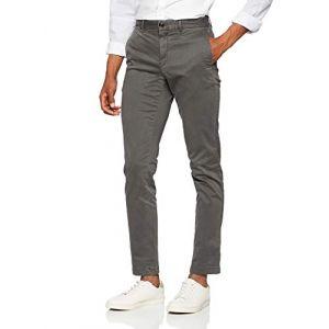 Tommy Hilfiger Pantalon chino Denton straight fit ligne Tommy Jeans Gris