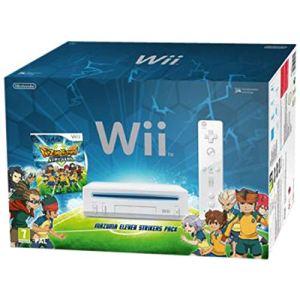 Nintendo Pack Wii Inazuma Eleven : Strikers série limitée - La console + le jeu