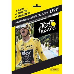 Panini Album, porte cartes et 2 pochettes Tour DE France 2019