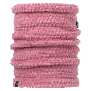 Buff Solid Cache-Cou Polaire Femme, Heather Rose, FR Fabricant : Taille Unique