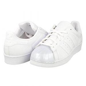 Image de Adidas Superstar Glossy, Chaussures de Basketball Femme, Blanc, 36 EU