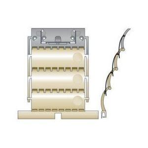 Somfy Attache rigide clicksur 3 maillons pour lames de 8 mm 9012486
