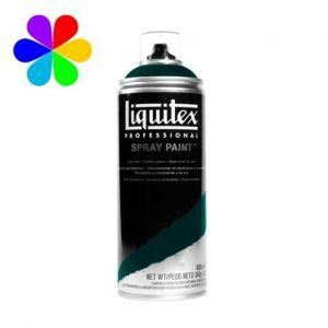 Liquitex Peinture acrylique en spray 400 ml 5398 - Vert Emeraude Perm 5 Imit