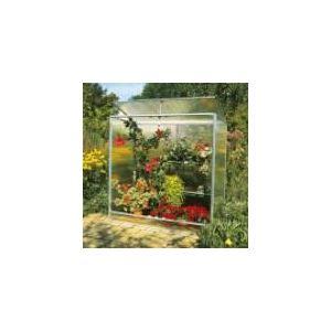 Image de Ideanature Serre Plant House en alu et polycarbonate 77 x 160 x 162 cm