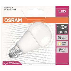 Osram Ampoule LED Star Classic standard E27 9W (60W) A+