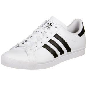 Adidas Coast Star J, Chaussures de Gymnastique Mixte Enfant, Blanc Core Black/FTWR White, 35.5 EU