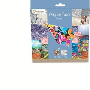 Avenue mandarine Papier Urban - Kit créatif origami