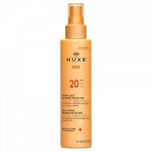 Nuxe Sun - Spray lacté visage et corps SPF20