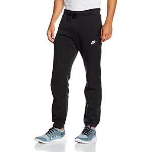 Nike Pantalon en tissu Fleece coupe standard Sportswear pour Homme - Noir - Taille M - Male