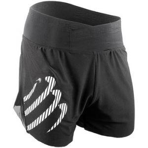 Compressport Compress Port Short Overs Pantalon de course, Noir - XL