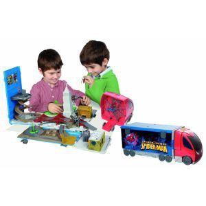 IMC Toys Véhicule Spider Truck Playset 2 en 1