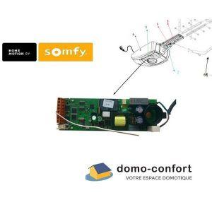Somfy Boitier electronique RTS NS pour GDK3000/4000 et Axorn 50/50NS 70/70NS - 9013311.