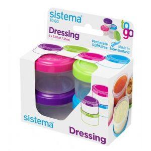 Sistema Bocal à sauce Dressing To Go X 4