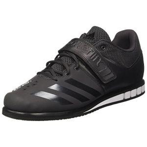 Adidas Powerlift.3.1, Chaussures de Fitness Homme, Noir (Utility Black/Core Black/Footwear White 0), 46 EU