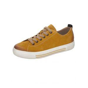 Remonte D0900 Chaussures basses à lacets pour femme - Jaune - Maïs jaune., 36 EU